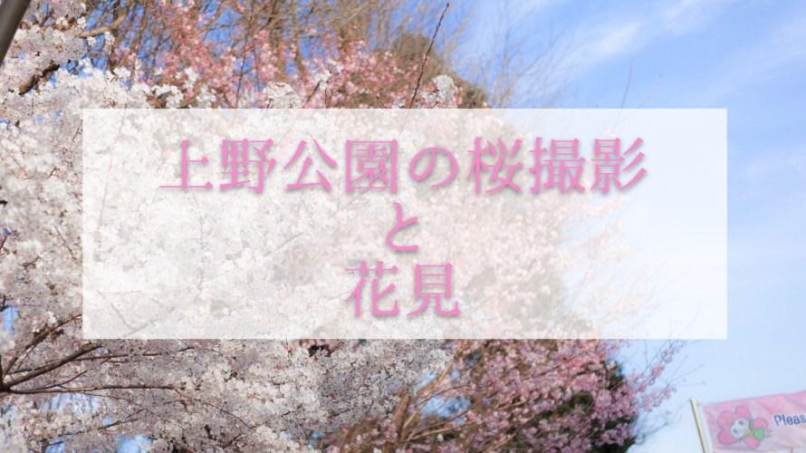 【2018年桜撮影】平日でも人で賑わう上野恩賜公園へ行ってきた!屋台もたくさんありました!