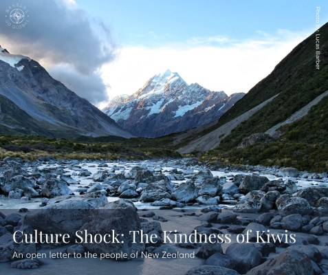 Culture Shock: The Kindness of Kiwis