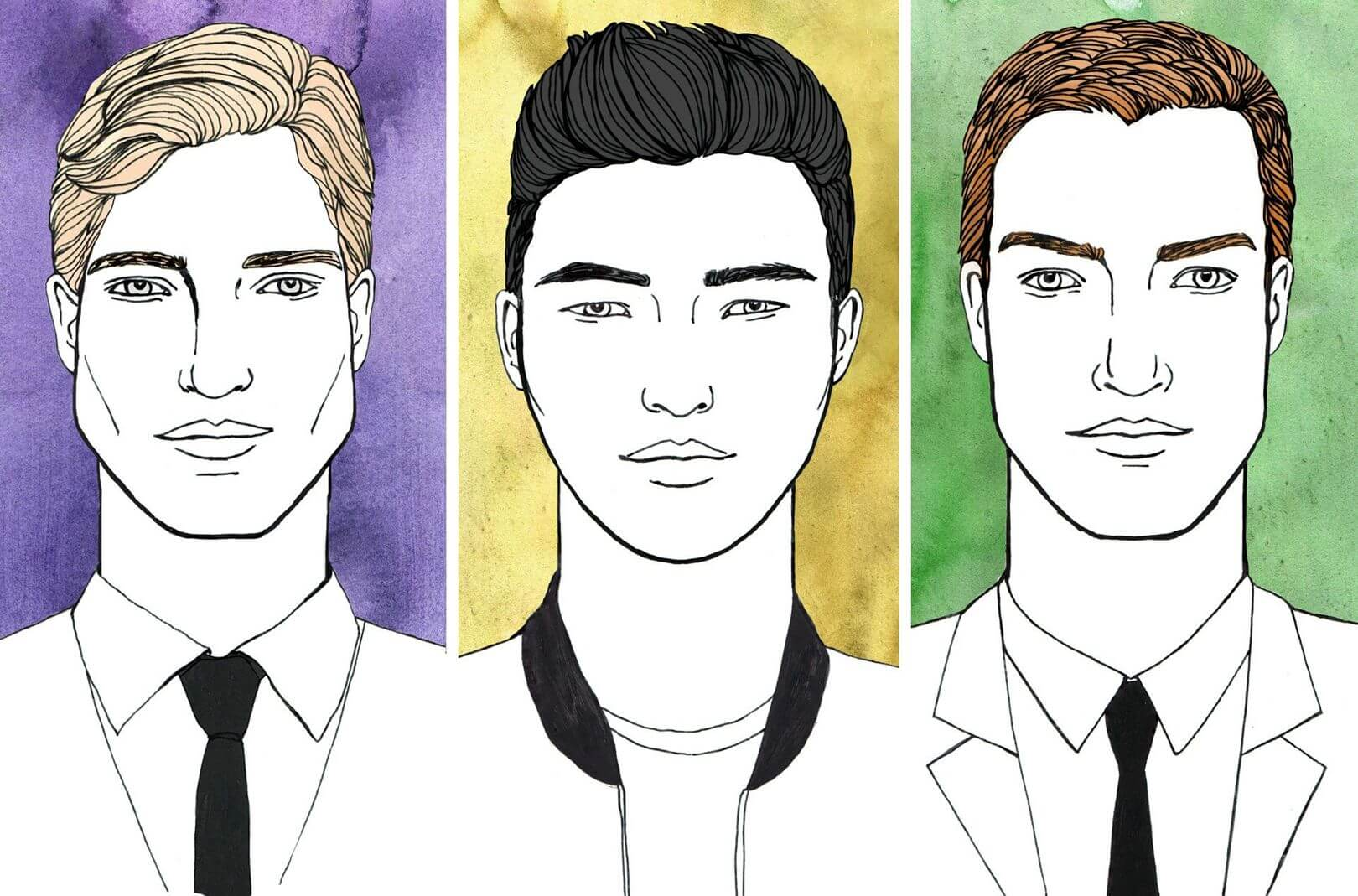 Face Shapes Hair Types Styles To Suit And Your Barber