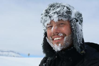 güleryüzlü dağcı
