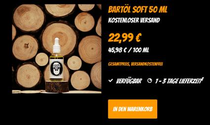 Heisenbeard Bartöl Soft