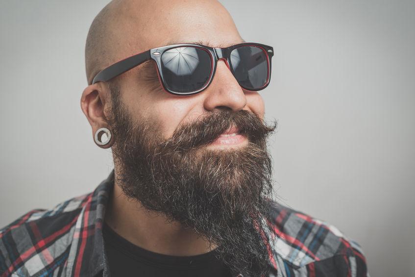 Eine Glatze Und Ein Bart Sind Beste Freunde Barber