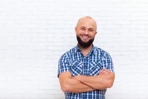 Ohne glatze mit bart oder Glatze rasieren