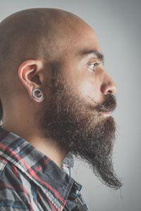 Und männer mit glatze bart Glatze und
