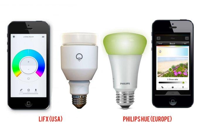 Lifx et Hue : 2 systèmes de lumière