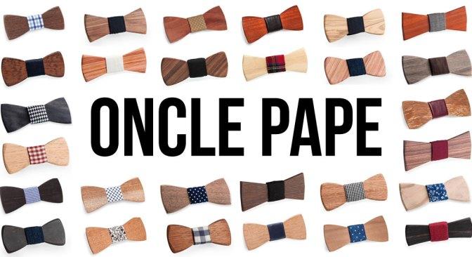 Oncle Pape - Une gamme variée de Noeuds Papillon