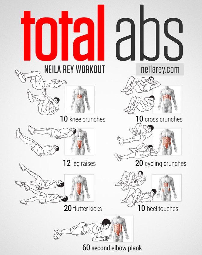 Programme d'exercices - No Pain No Gain