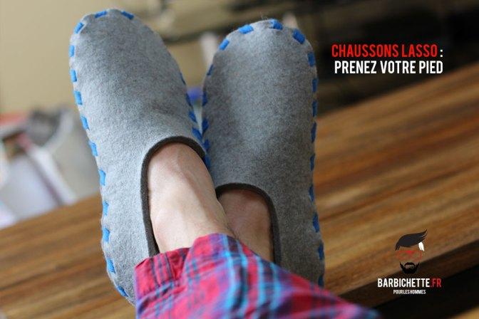 Chaussons Lasso - Le confort de la feutrine