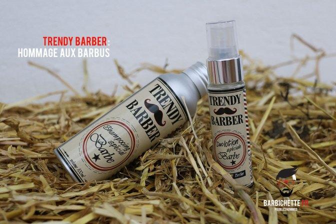 Trend Barber - Shampoing et lotion pour la barbe