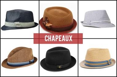 Chapeaux Mode Homme