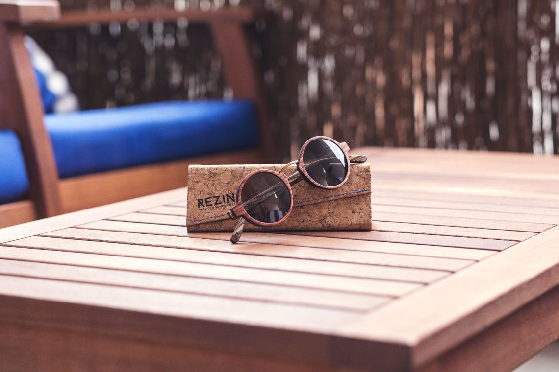 Rezin Lunettes en bois