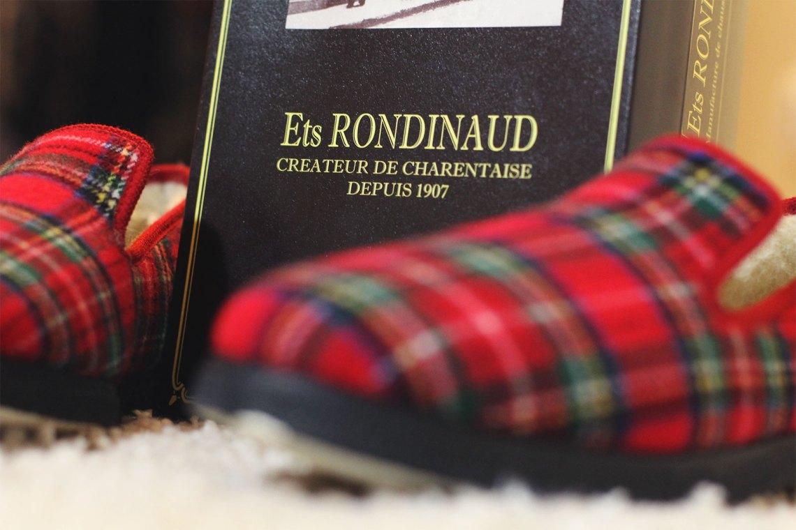 Pantoufles Rondinaud