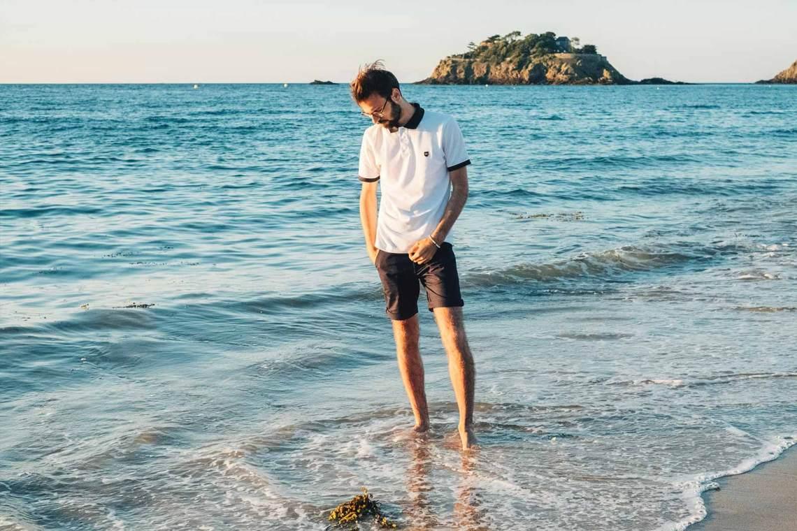 Look masculin plage