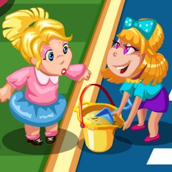 Play barbie home decoration games