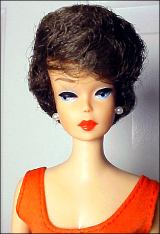 Винтажные куклы Bubble Cut Barbie 19611967 Планета Барби