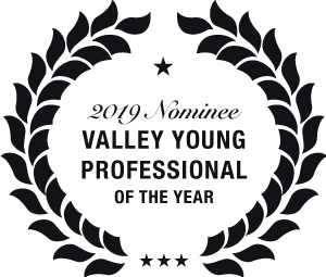 2019 Nominee for Valley Young Professional of the Year