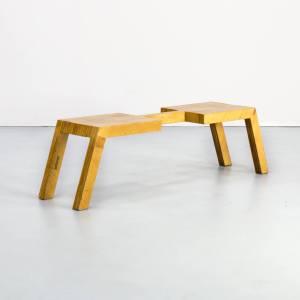 Bankje Van Harvink.Plywood Barbmama