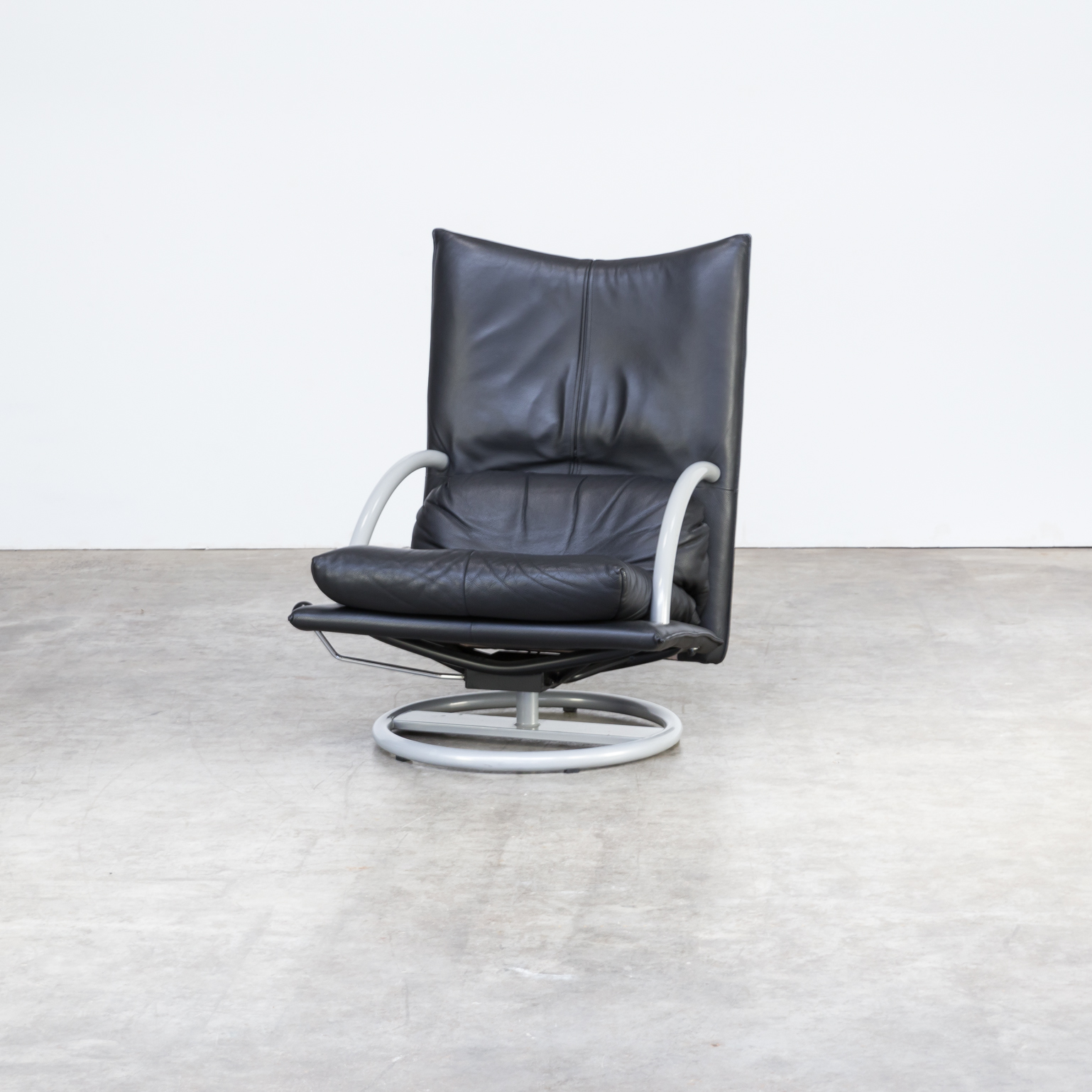 Rolf Benz Bank Vintage.90s Rolf Benz Relax Lounge Fauteuil Build On A Italian Morex Metal Frame