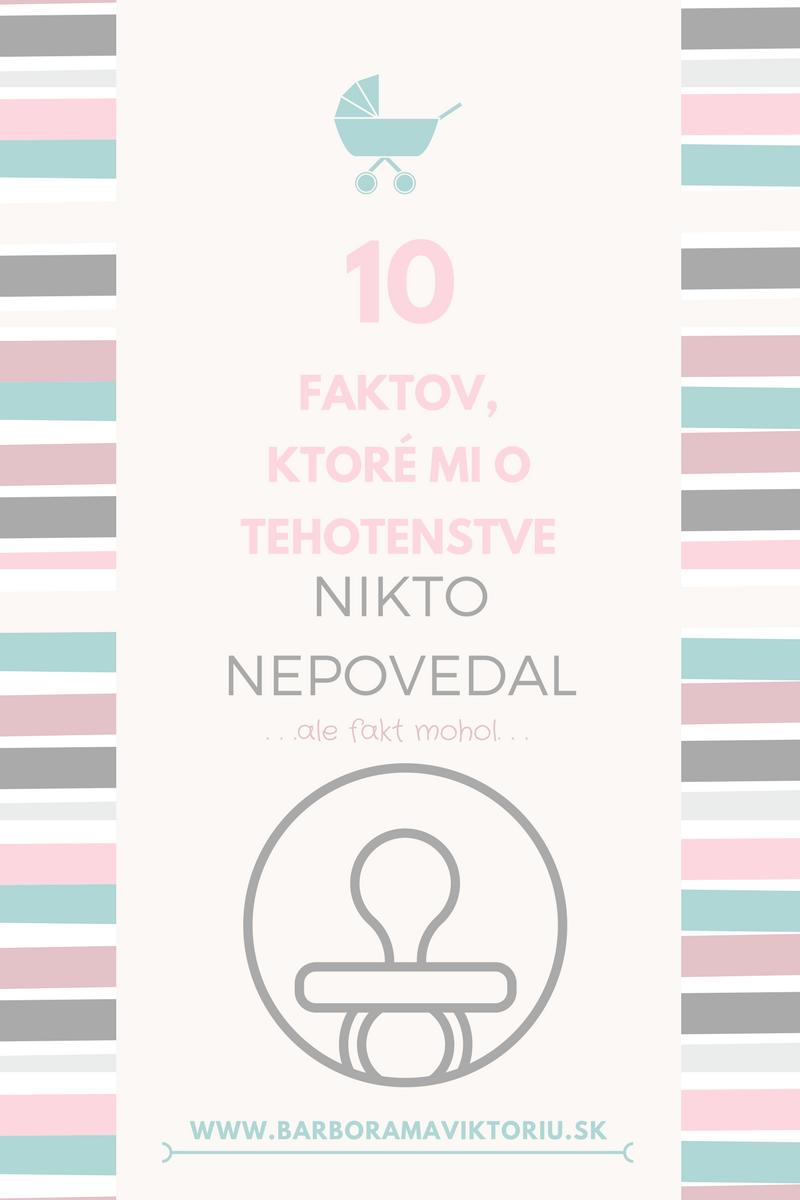 10 faktov, ktoré mi o tehotenstve nikto nepovedal