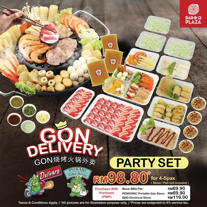 GonDelivery - Party Set
