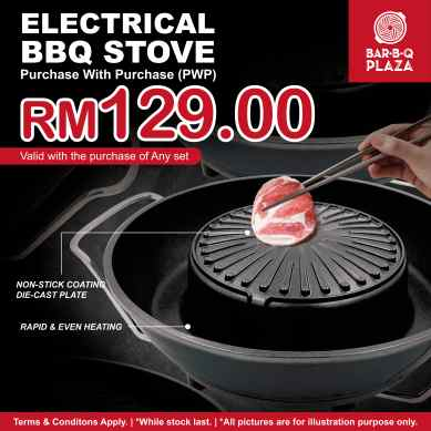 Add on Electrical BBQ Stove