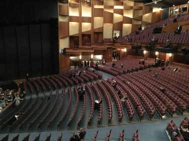 Pause im Großen Festspielhaus