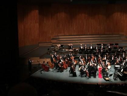 Schlussapplaus Tripel-Konzert Beethoven