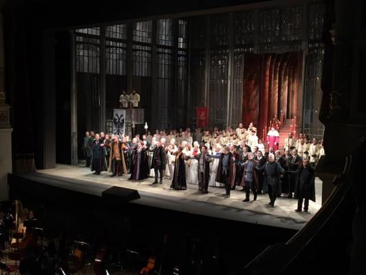 Applaus Lohengrin 2. Aufzug (Semperoper)