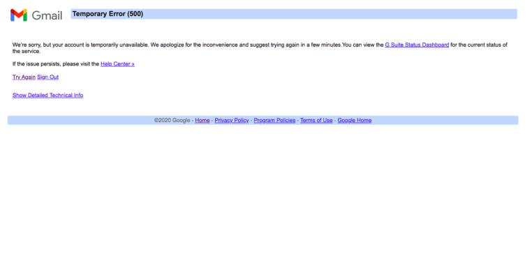Youtube Ul Google, Gmail Se Recuperează După întreruperea Globală Barbuiulian