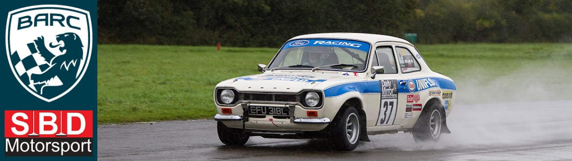 Ford Escort Mark II at Curborough Sprint Course in 2016