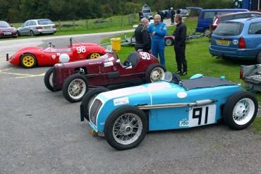 Drivers At Curborough Sprint Course