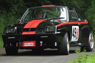 Gary Morgan - Vauxhall Chevette HSR