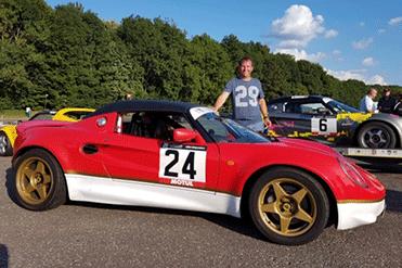 Tim Hardwicke - Lotus Elise S1 111s
