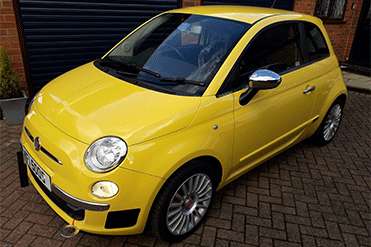 Gordon Peters - Fiat 500 Sport