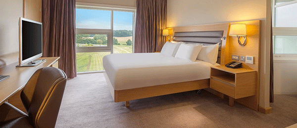 Hilton at Saint George's Park Bedroom