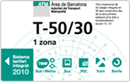bilet T-50 30