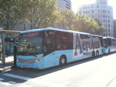 Aerobus - Bilety i wycieczki online - Barcelona