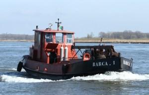 werkboot binnenvaart duwvaar duwbak barca 1