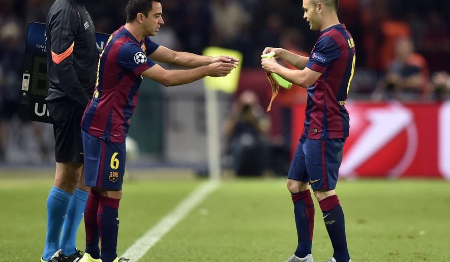Xavi and Iniesta, two unforgettable names of Barcelona midfield