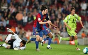 Messi's goal against Getafe