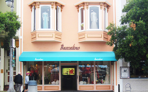 Barcelino Women's boutique store in Sausalito