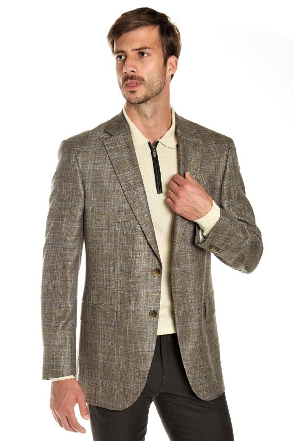 Jacket, Tweed Bamboo Viscosa