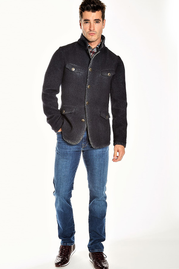 Knit Field Jacket