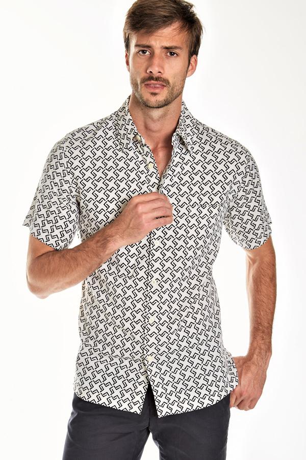 Silk Short Sleeve Sport Shirt