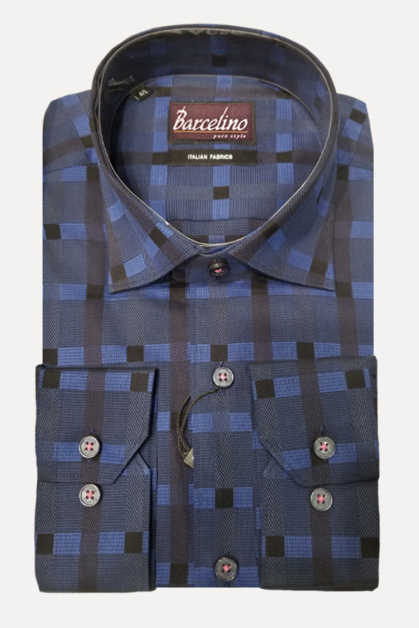 Hidden Button Down shirt is now the most popular because the Collar stays down close to the neck.