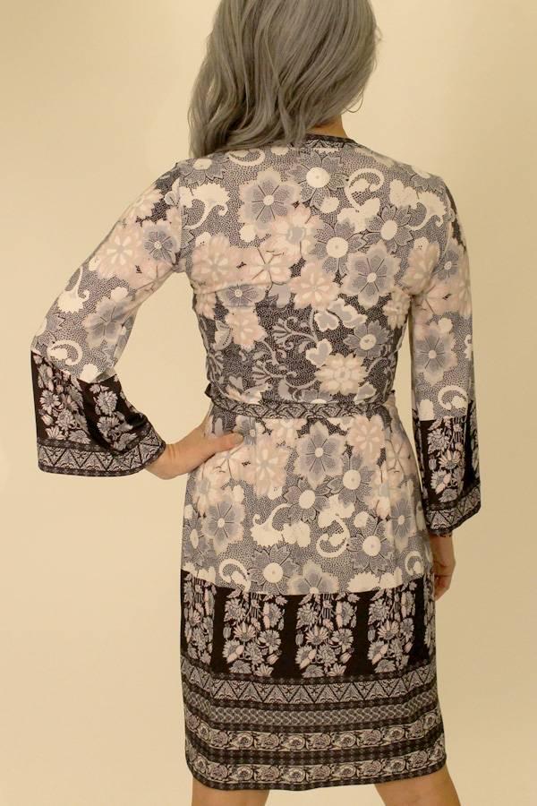 Blossom Printed Wrap Dress