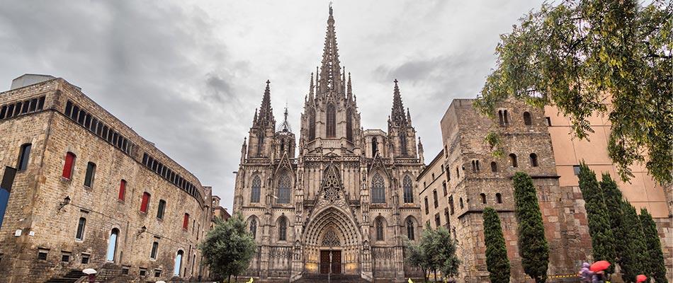 Fotografía de la Catedral de Barcelona