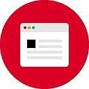 Icono de un navegador web de Safari