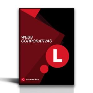 Pack de web corporativa del tamaño L para pymes