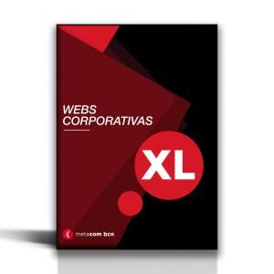 Pack de web corporativa para grandes empresas